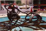 Spring Rain, 1992, bronze, commissioned by Crawley Council,