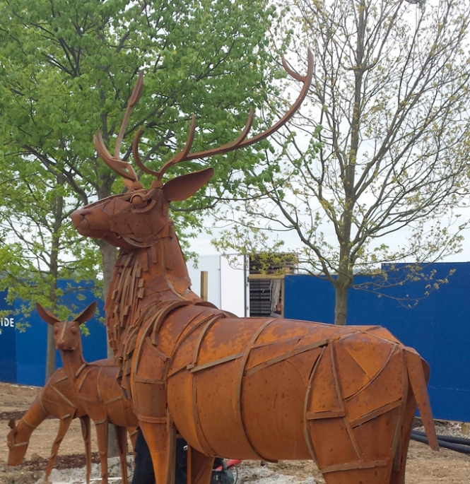 Stag, Beauliey Estate, Chelmsford